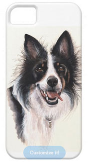 Collie dog iPhone cover