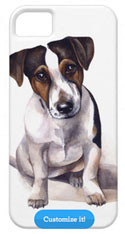 Jack Russell Puppy iPhone Cover